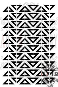MvM designs-triangles 6x9
