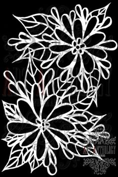 Flower mask web